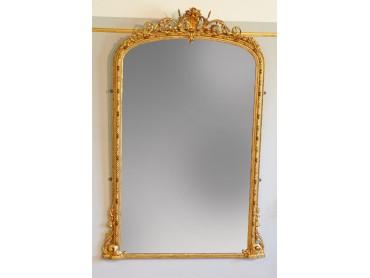 Gran Espejo Ingles Siglo XIX