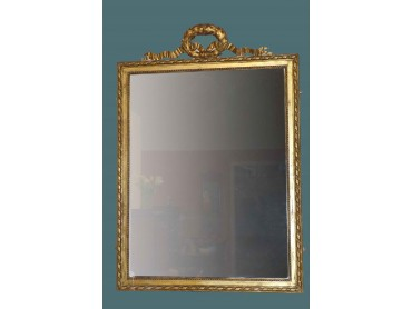 Espejo Antiguo Ingles Dorado