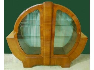 Vitrina Art Deco de 2 puertas
