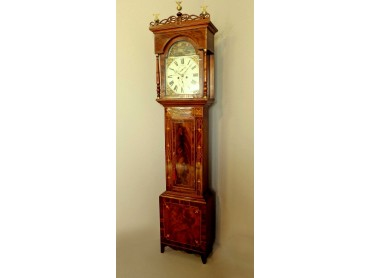 Reloj de pie Ingles Antiguo -  firmado P. Jopling