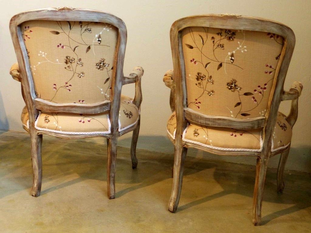 Estilos de muebles antiguos de muebles antiguos tapizado for Sillones antiguos
