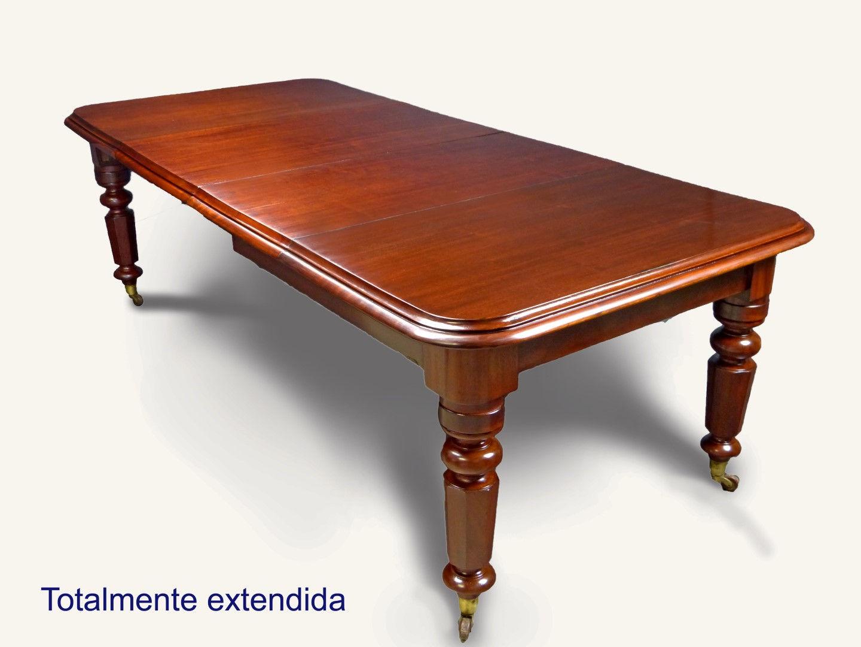 Mesas de comedor antiguas restauradas mesa y sillas - Mesas antiguas ...