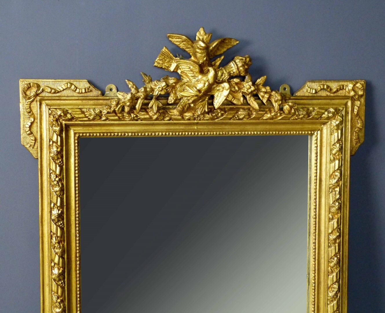Espejos antiguos espejos antiguos espejo frances dorado sxix - Marcos espejos antiguos ...