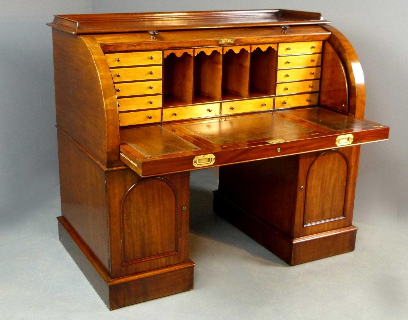 Muebles de caoba obtenga ideas dise o de muebles para su for Muebles escritorios clasicos
