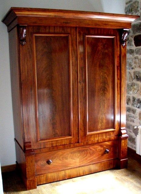Muebles antiguos armarios antiguos mesas antiguas - Muebles de caoba antiguos ...