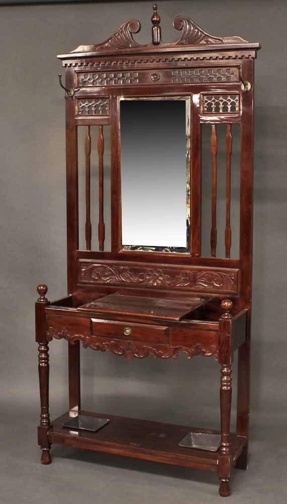 Muebles antiguos armarios antiguos mesas antiguas - Percheros paragueros antiguos ...