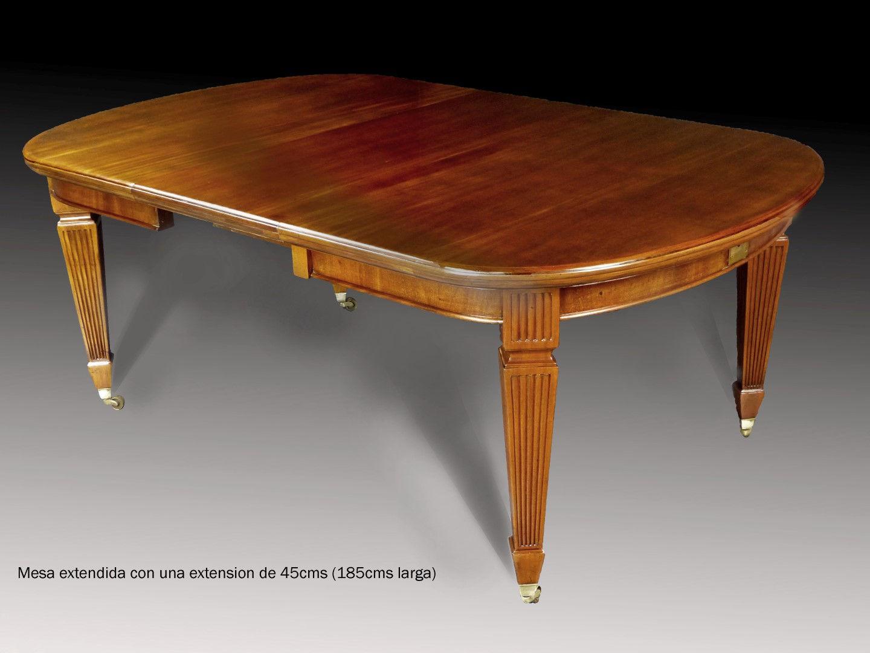 Mesas de comedor antiguas restauradas mesa de comedor - Mesa comedor antigua ...
