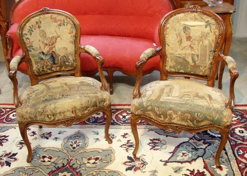 Muebles antiguos armarios antiguos mesas antiguas - Sillones originales ...