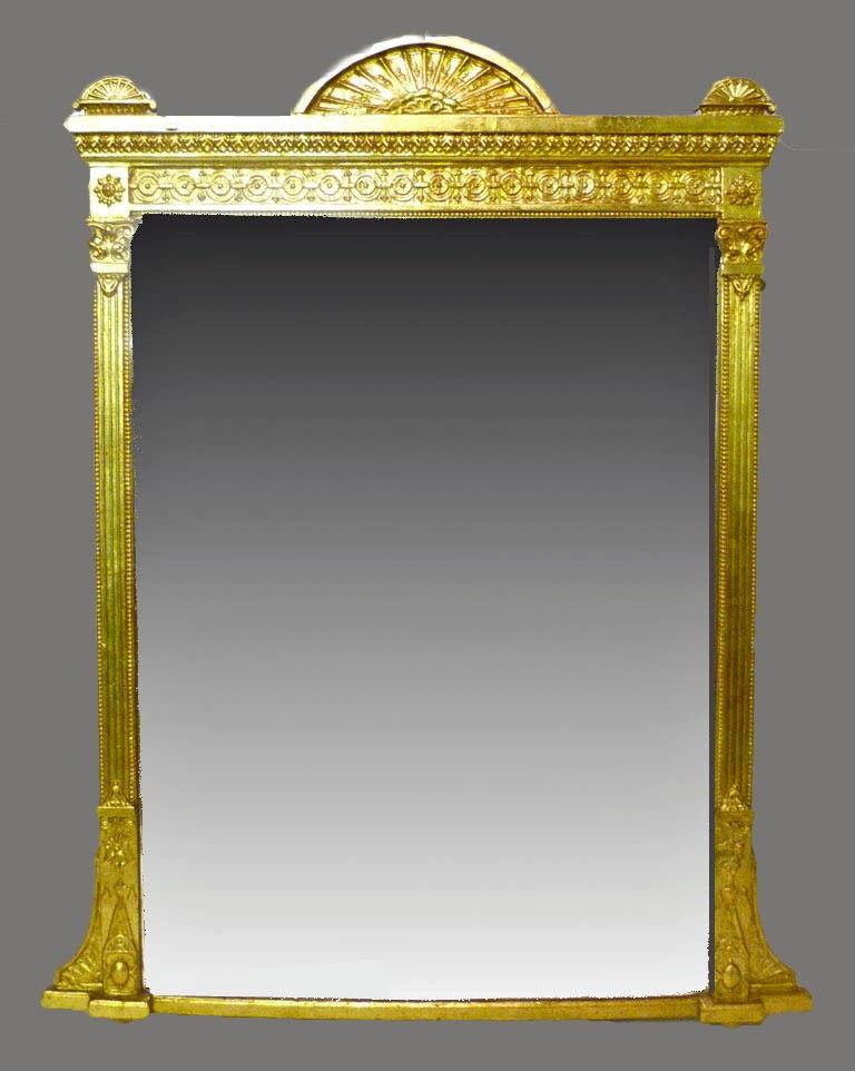 Espejos antiguos de pared top pequeo y antiguo espejo de - Espejos antiguos de pared ...
