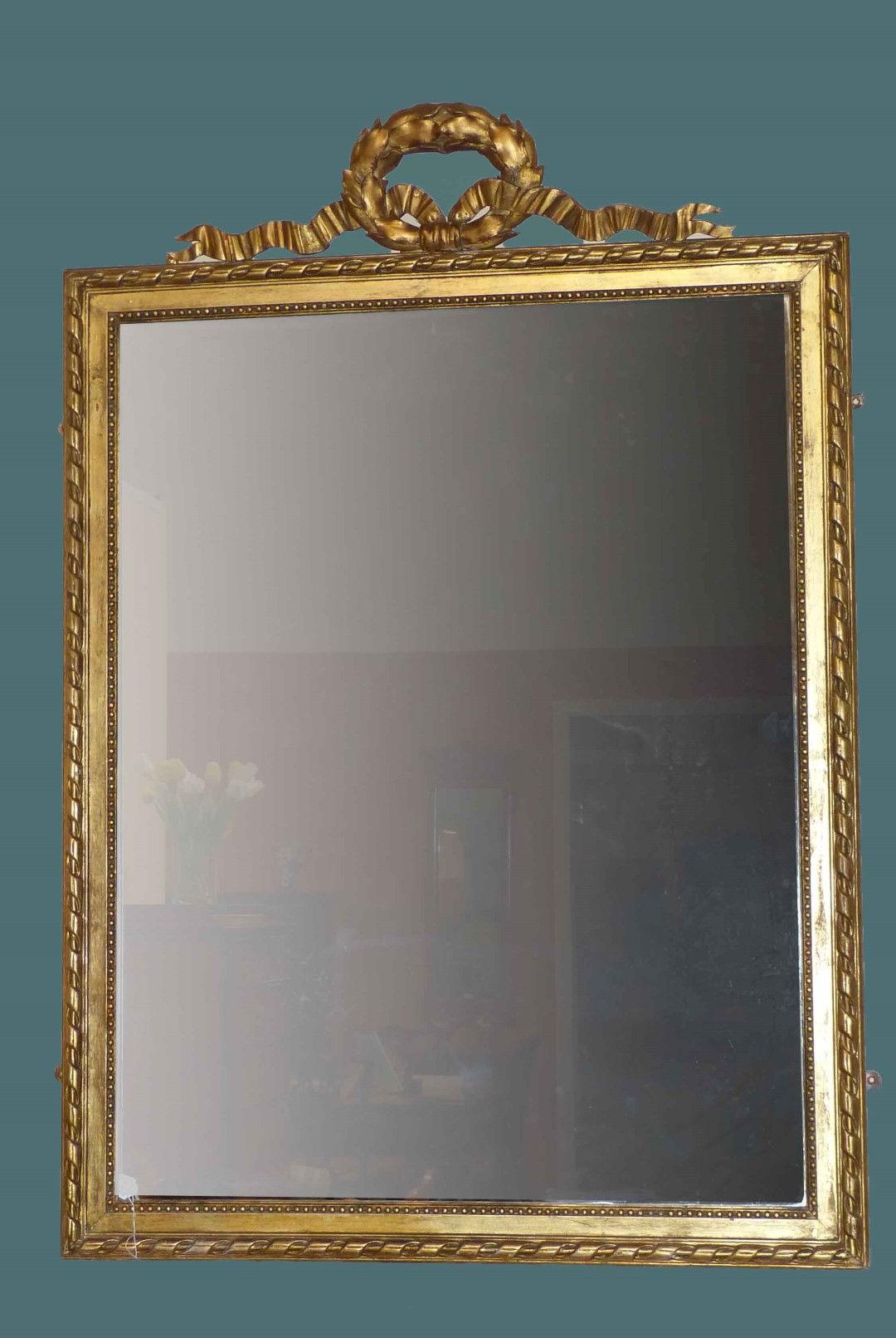Espejos antiguos espejos antiguos espejo antiguo ingles dorado for Espejos decorativos dorados