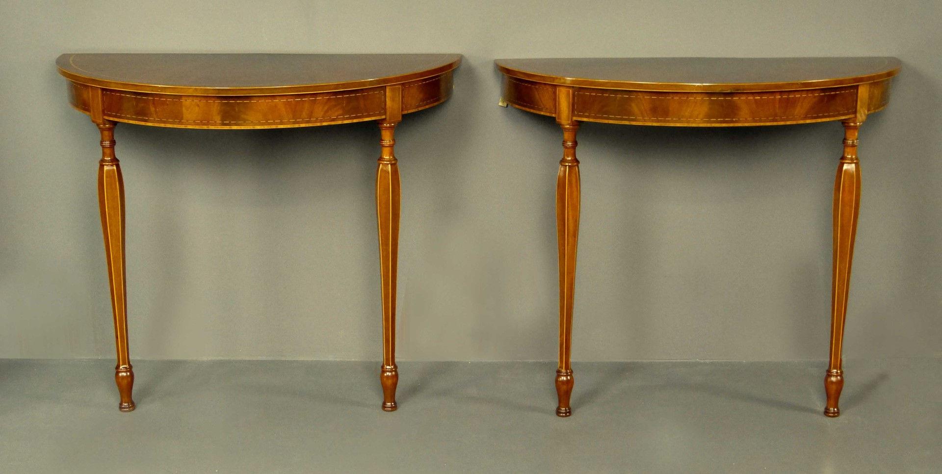 Mesas consolas mesas consolas consolas antiguas pareja - Mesas de recibidor antiguas ...
