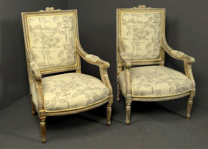 Sillon estilo frances ver ms sillones franceses estilo Muebles de sala luis xvi