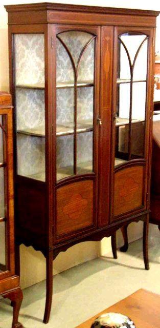 Armario Vitrina Antigua : Muebles antiguos armarios mesas antiguas