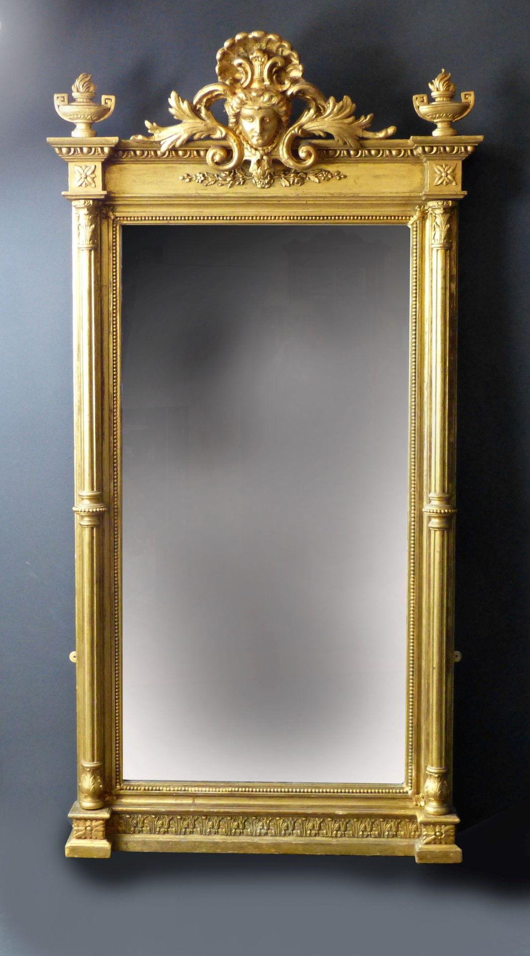 Espejos de decoracion antiguos for Espejo y cepillo antiguo