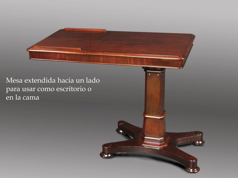 mesa de lectura y para cama ajustable vendido