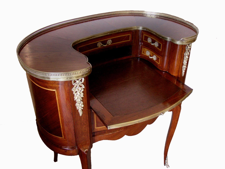 escritorio frances estilo luis xv forma haba vendido